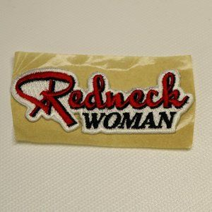 Redneck Woman Embroidered Patch Rodeo Cowgirl Hat